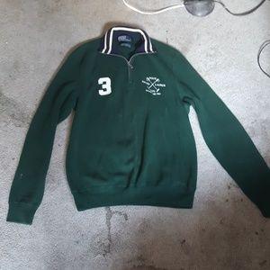 Polo by Ralph Lauren collared sweatshirt